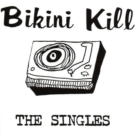 Bikini Kill - The Singles-LP-South