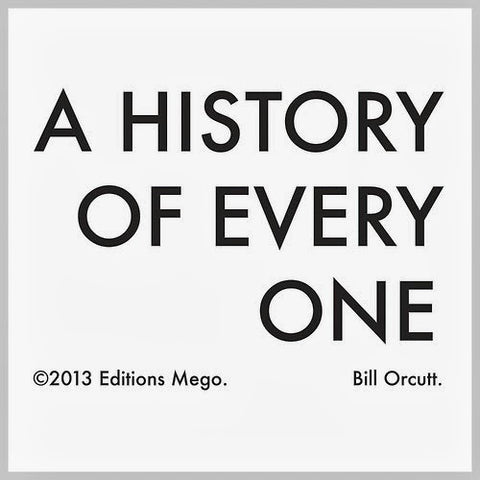 Bill Orcutt - A History Of Everyone-LP-South