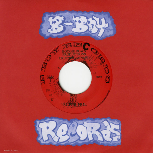 "Boogie Down Productions - Super Hoe/ Criminal Minded-7""-South"