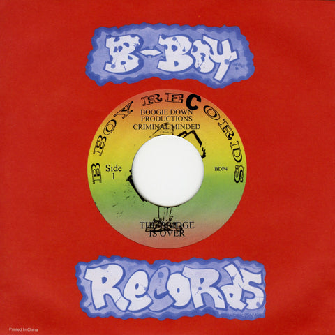 "Boogie Down Productions - The Bridge Is Over/ Remix For P Is Free-7""-South"