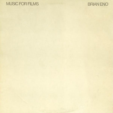 Brian Eno - Music for Films-LP-South