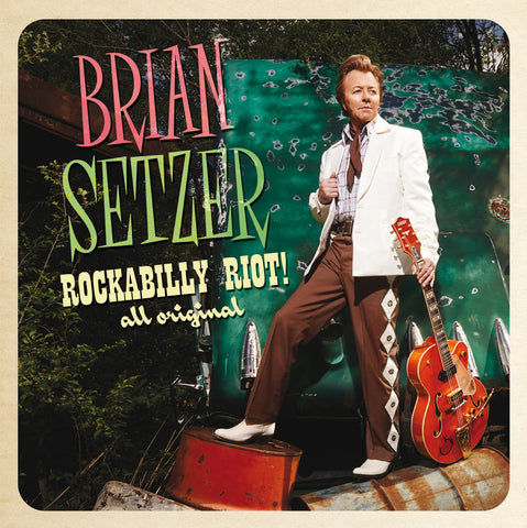 Brian Setzer - Rockabilly Riot! All Original-CD-South