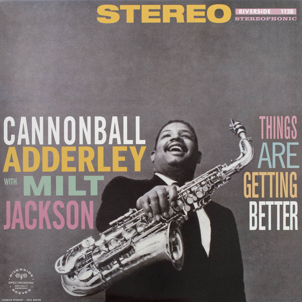 Cannonball Adderley with Milt Jackson - Things Are Getting Better-Vinyl LP-South