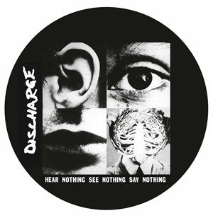 Discharge - Hear Nothing See Nothing Say Nothing-LP-South