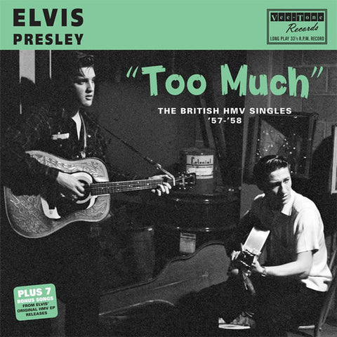Elvis Presley - Too Much: The British HMV Singles '57-'58-LP-South