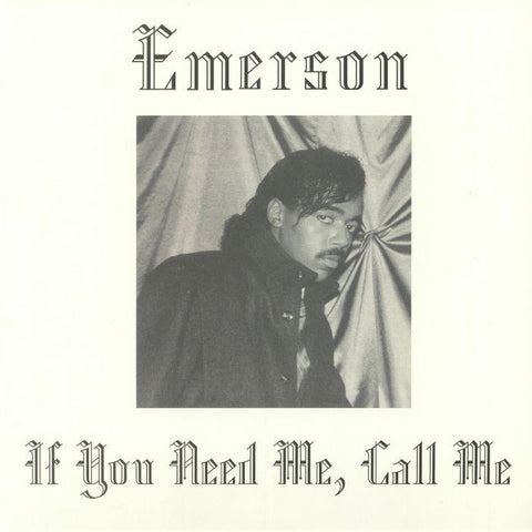 Emerson - If You Need Me, Call Me-LP-South
