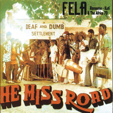 Fela Kuti - He Miss Road-Vinyl LP-South