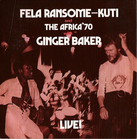 Fela Kuti - Live With Ginger Baker-Vinyl LP-South