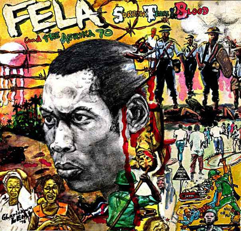 Fela Kuti - Sorrow, Tears & Blood-Vinyl LP-South