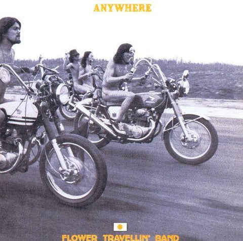 Flower Travellin' Band - Anywhere-LP-South