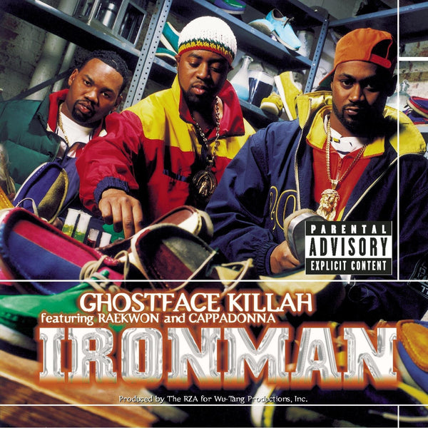 Ghostface Killah - Ironman-LP-South