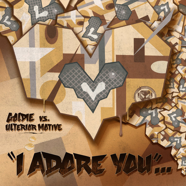 "Goldie - I Adore You-12""-South"
