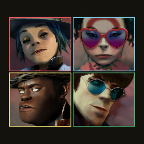 Gorillaz - Humanz-CD-South