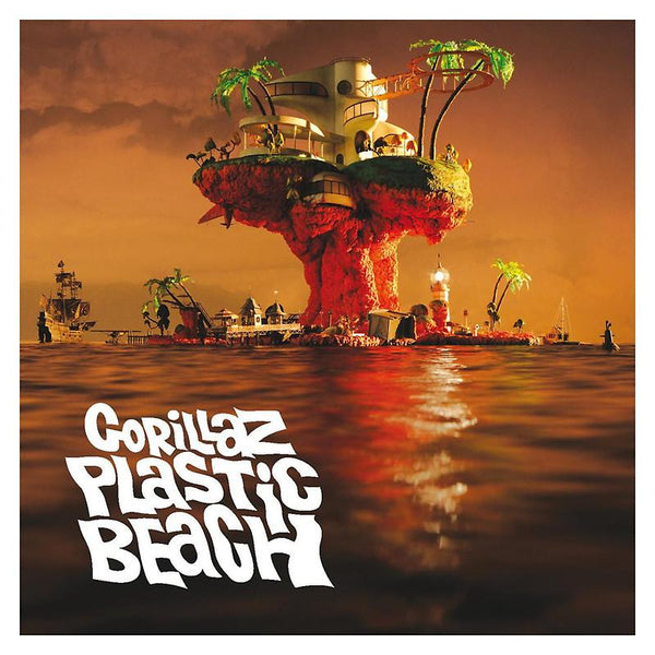 Gorillaz - Plastic Beach-LP-South