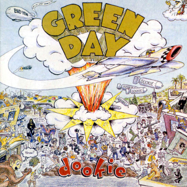 Green Day - Dookie-LP-South