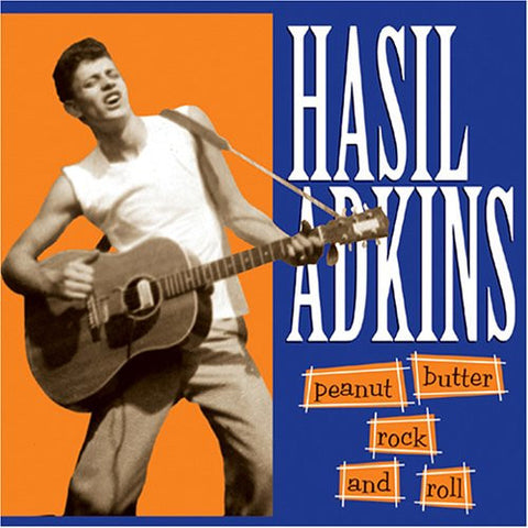 Hasil Adkins - Peanut Butter Rock & Roll-Vinyl LP-South