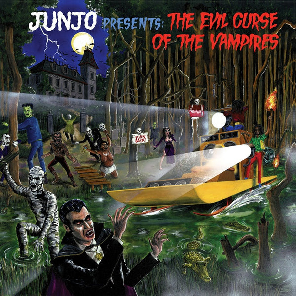 Henry Junjo Lawes - Junjo Presents: The Evil Curse Of Vampires-LP-South
