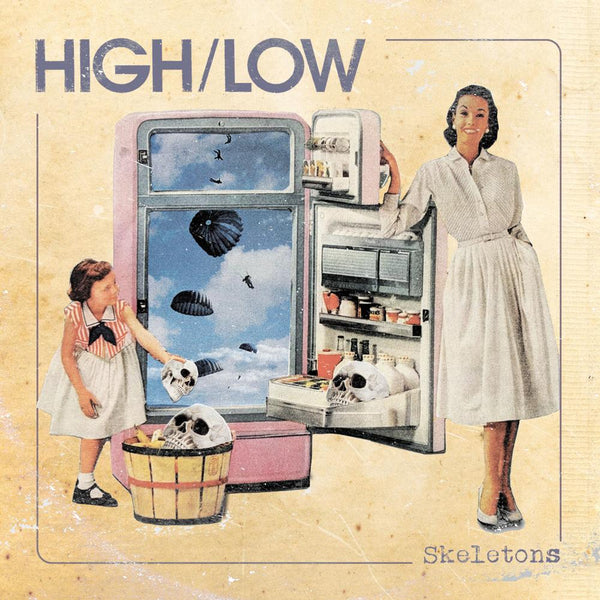 HIGH/LOW - Skeletons-LP-South