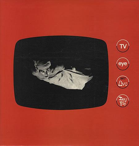 Iggy Pop - TV Eye 1977-LP-South