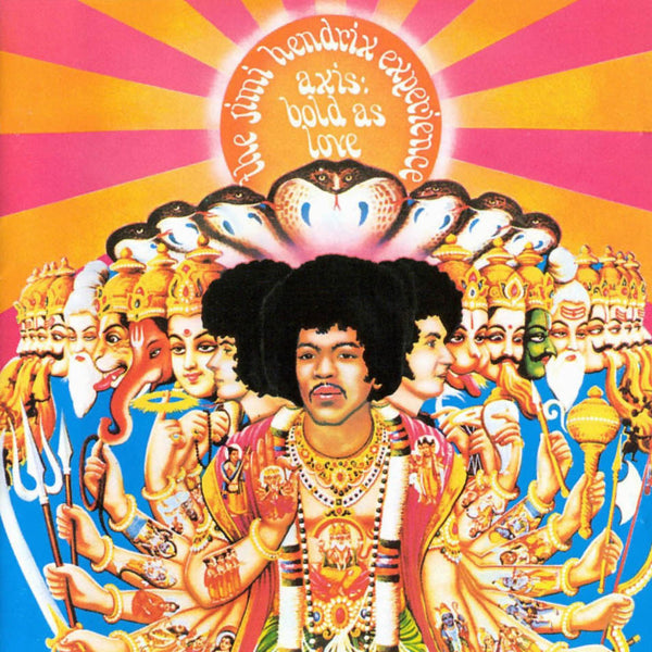 Jimi Hendrix Experience - Axis: Bold As Love-Vinyl LP-South