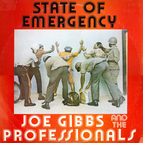 Joe Gibbs & The Professionals - State of Emergency-Vinyl LP-South