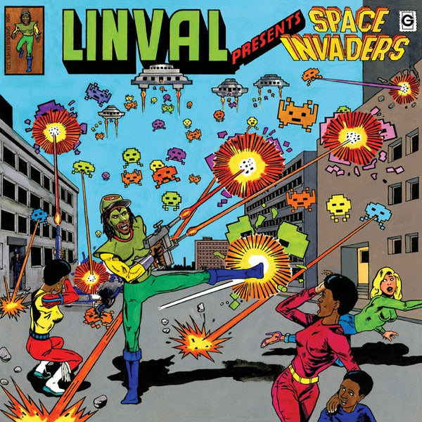 Linval Thompson - Presents: Space Invaders-LP-South
