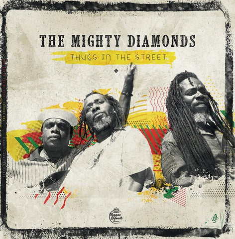 Mighty Diamonds - Thugs In The Street-LP-South