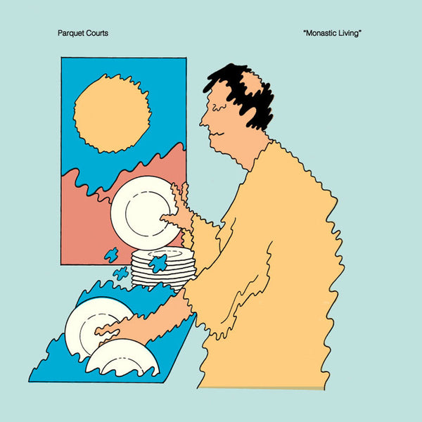 Parquet Courts - Monastic Living-LP-South