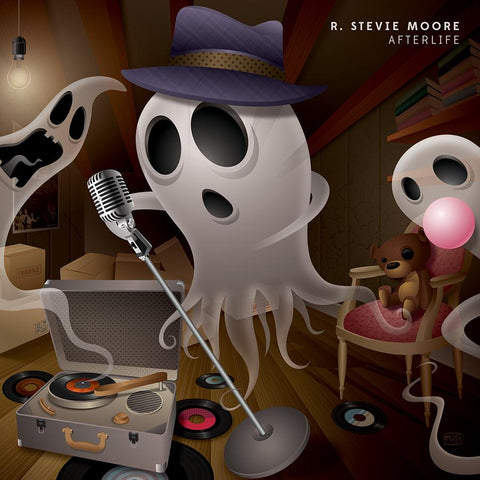 R. Stevie Moore - Afterlife-LP-South