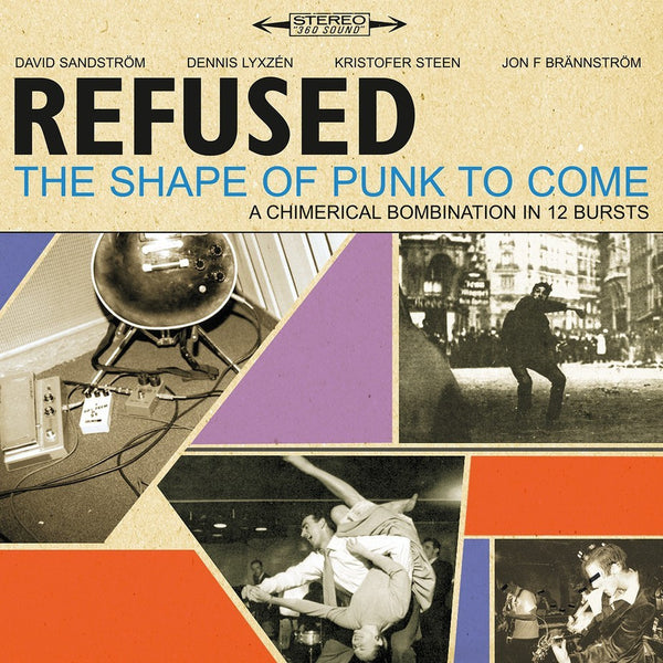 Refused - The Shape Of Punk To Come-LP-South
