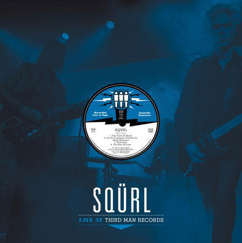 Squrl - Live At Third Man-LP-South