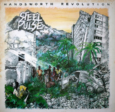 Steel Pulse - Handsworth Revolution-Vinyl LP-South