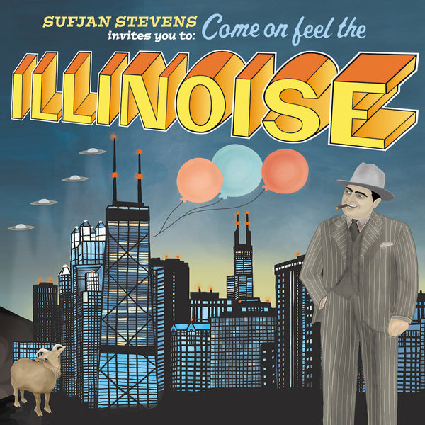 Sufjan Stevens - Illinoise-Vinyl LP-South