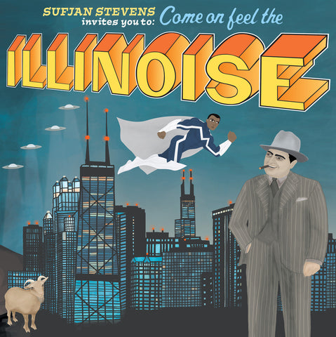 Sufjan Stevens - Illinoise: Special 10th Anniversary Blue Marvel Edition-LP-South