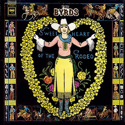 The Byrds - Sweetheart Of The Rodeo-LP-South
