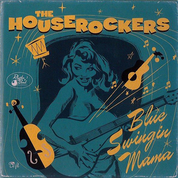 The Houserockers - Blue Swingin' Mama-CD-South
