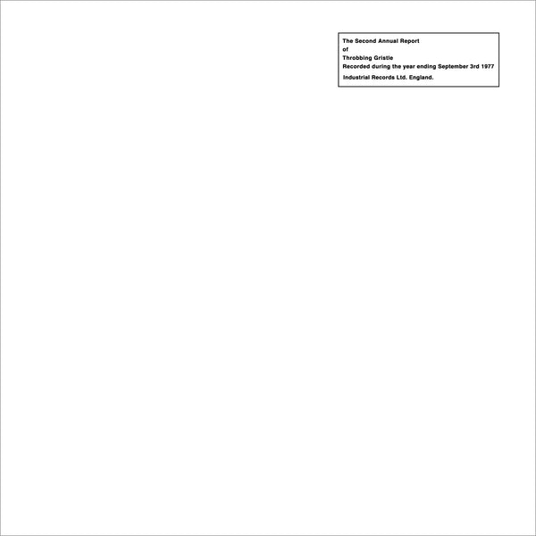 Throbbing Gristle - Second Annual Report-CD-South