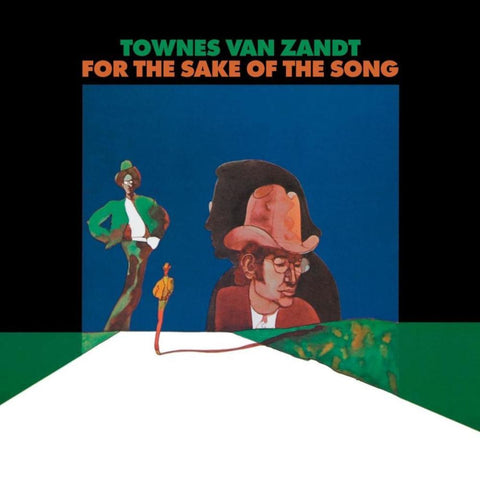 Townes Van Zandt- For The Sake Of The Song-LP-South