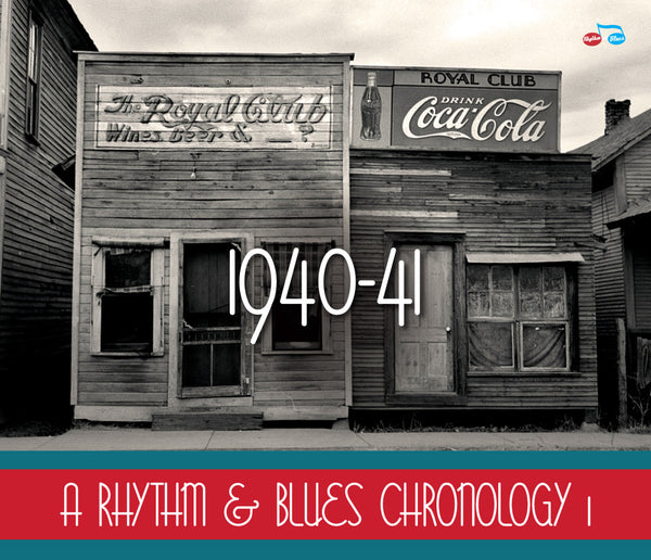 Various - A Rhythm & Blues Chronology 1: 1940-1941-CD-South