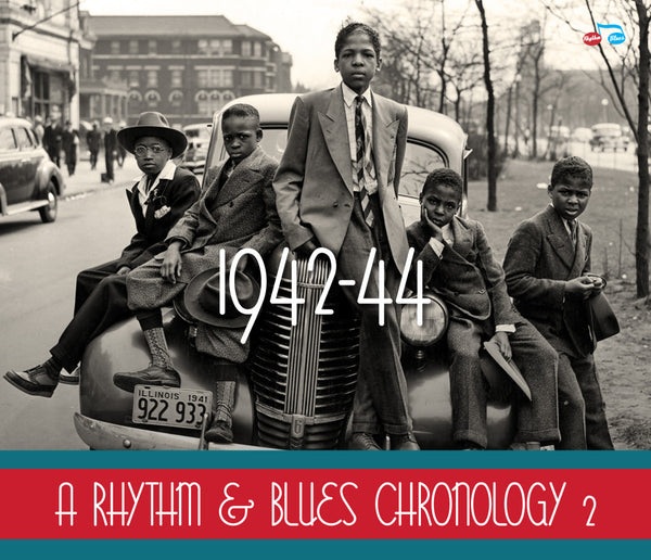 Various - A Rhythm & Blues Chronology Vol.2 - 1942-1944-CD-South