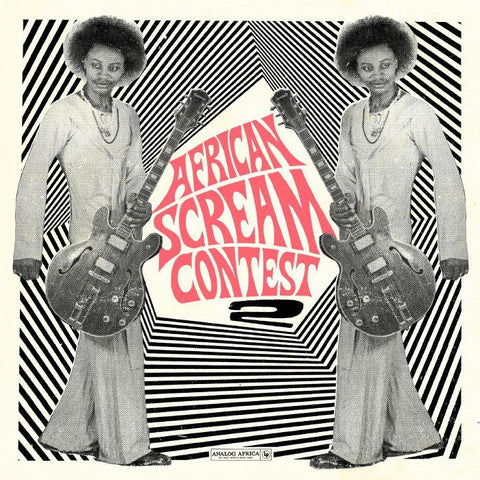 Various - African Scream Contest 2-LP-South