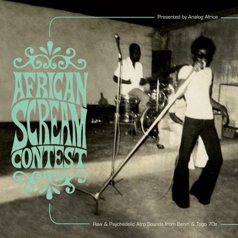 Various - African Scream Contest-LP-South