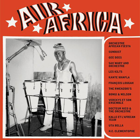 Various - Air Africa-LP-South