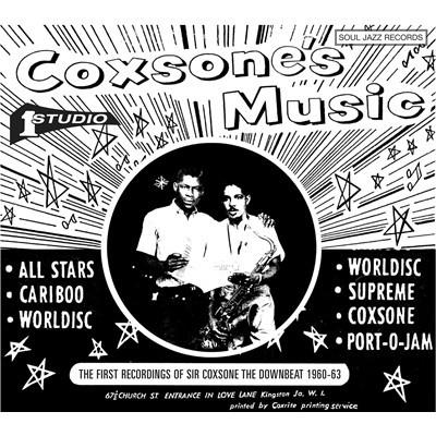 Various - Coxsone‰۪s Music: The First Recordings Of Sir Coxsone The Downbeat 1960-63-CD-South