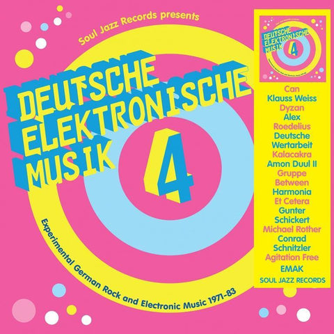 Various - Deutsche Elektronische Musik: Experimental German Rock and Electronic Music 1971-83