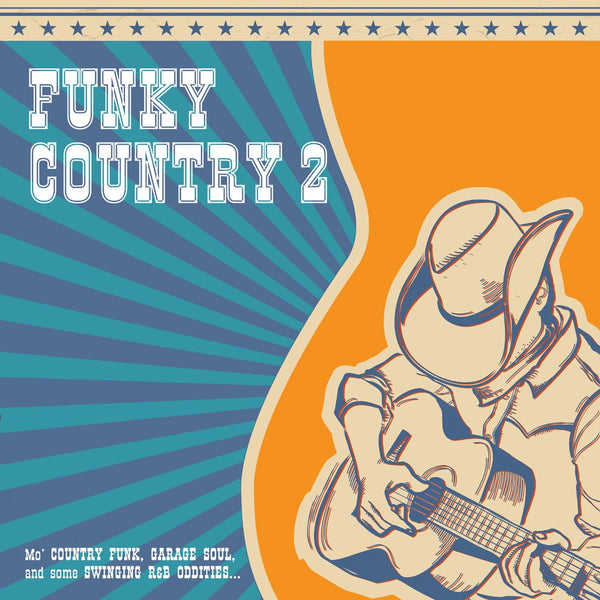 Various - Funky Country 2-LP-South