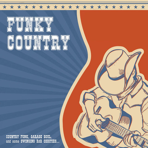 Various - Funky Country-LP-South
