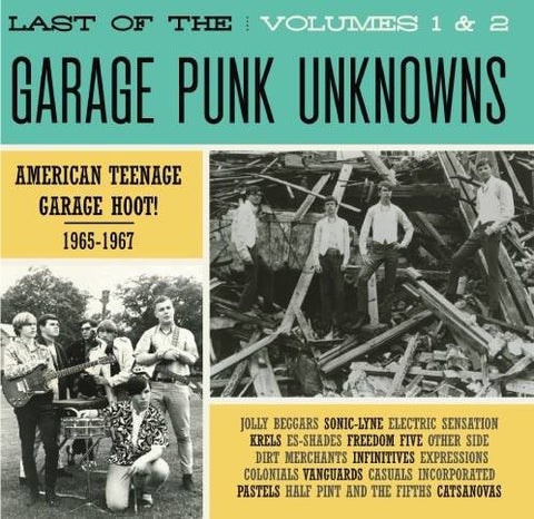 Various - Last of The Garage Punk Unknowns Vol.1-Vinyl LP-South