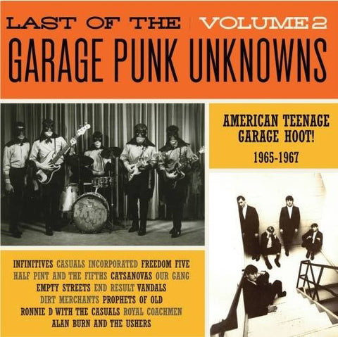 Various - Last of The Garage Punk Unknowns Vol.2-Vinyl LP-South