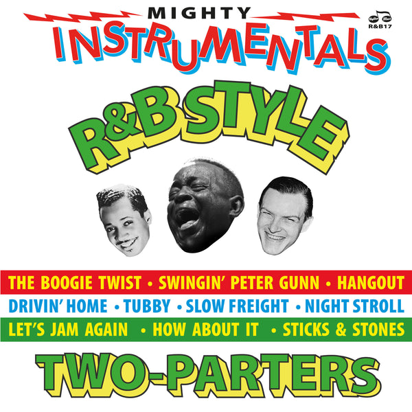 Various - Mighty R&B Instrumentals Two-Parters-LP-South